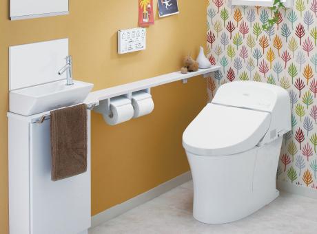 便器一体型トイレ(タンク式トイレ)