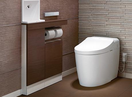 タンクレストイレ画像