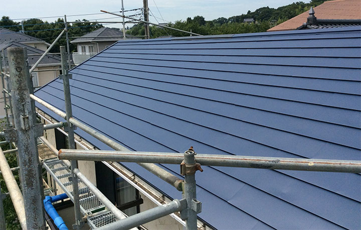 屋根葺き替えリフォーム
