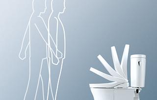 トイレ機能-オート開閉画像