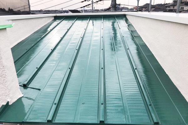 屋根塗装リフォーム事例アフター写真