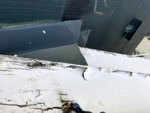 塗装前の屋根の状態