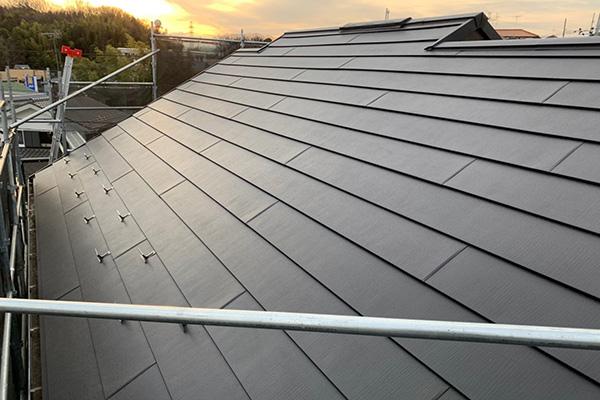 屋根(カバー工法)リフォームafter