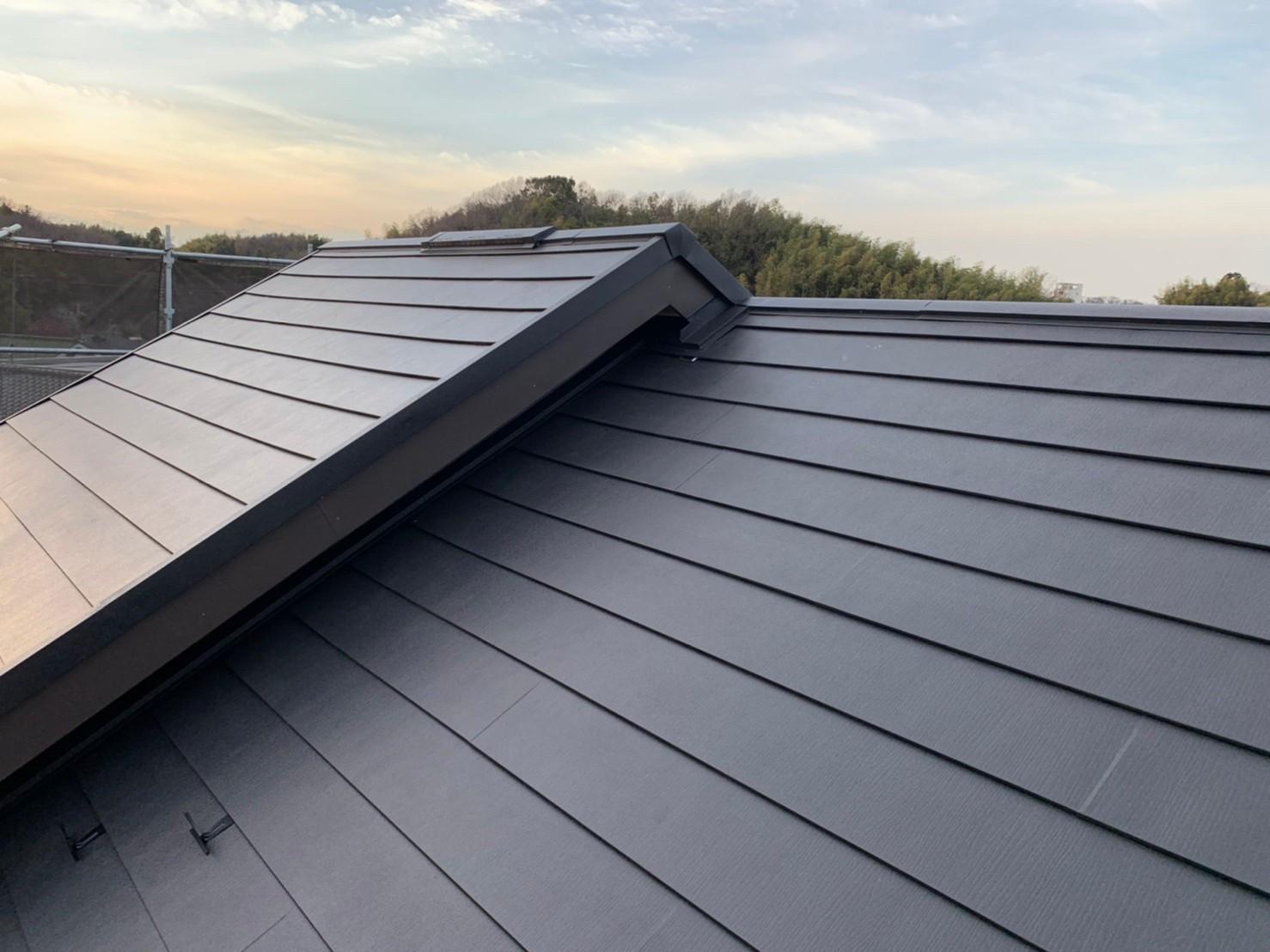 屋根(カバー工法)リフォーム事例