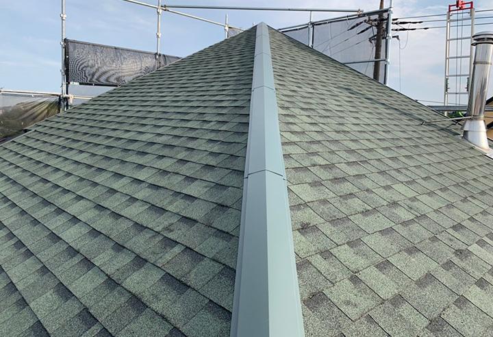 屋根(屋根葺き替え)リフォーム事例